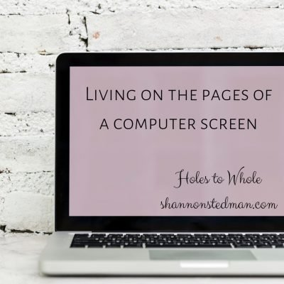 Living on the Pages of a Computer Screen